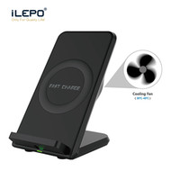 Qi Fast Wireless Charger Portable Quick Wireless Charging St...