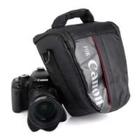 Su geçirmez DSLR Fotoğraf Makinesi Çantası Kılıf için Canon EOS 1300D 1200D 1100D 750D 800D 200D 60D 77D 70D 5D 6D 7D 100D 760D 700D 600D 650D T7
