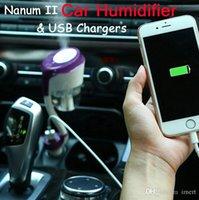 Nanum II USB Ultrasonic Air Humididificateur Humidificateur de chargeur Aromathérapie Air Ferrinisseur d'air Nébuliseur Humidificateur Mute Home Air Stérilisation 2017 Nouveau