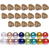 2018 Renk Aşk İstek İnci Tatlısu istiridye Akoya 6-7mm DIY İnci Çeşitliliği İyi Bireysel Paketi Moda Trend Hediye Sürpriz Vakum
