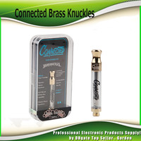 Connected Brass Knuckles Gold Cartridges Dual Ceramic and Co...
