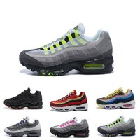 Hot Womens Sneakers Shoes 95 Running Shoes Black Red White S...