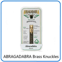 Newest ABRAGADABRA Brass Knuckles Cartridges Atomizers Dual ...