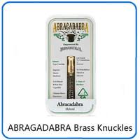 최신 ABRAGADABRA 황동 너클 카트리지 Atomizers 듀얼 코튼 코일 0.5ml 1.0ml 골드 마우스 피스와 아크릴 상자 0266215-1