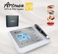 2020 New Arrival Artmex V9 Digital 5 em 1 maquiagem permanente tatuagem máquina EyeLine Lips Rotary Pen MTS PMU Skin Care Derma Pen
