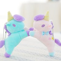 Mini Unicorn Pendant Stuffed Unicorn Plush Toy 6inch Small S...
