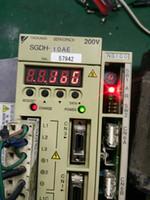 Fase do EXCITADOR 3 do motor de SERVO da CA de Servofack 200V de Yaskawa SGDH-10AE 1kW usada