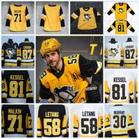 Großhandel 2018 Pittsburgh Penguins Trikots   19 Bryan Trottier ... 00148c37e