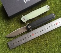 CH3505 New CH3505- G10 Flipper folding knife D2 blade ball be...