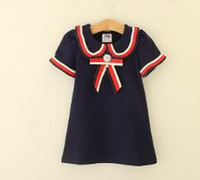 Wholesale Children Clothing Kids Summer Short Sleeve Princes...