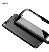 EFFENX Ultrafinos Phone Case para Xiaomi MI Nota 3 Protetora Macia TPU Bumper Hard Clear PC Tampa Traseira Shell Anti-knock Item de Moda