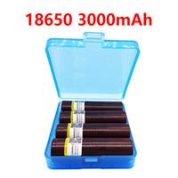 LiitoKala HG2 18650 3000mAh cigarro eletrônico de descarga As baterias recarregáveis de alta potência, corrente grande 30A