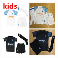 Olympique de Marseille soccer jersey kids kit with socks 201...