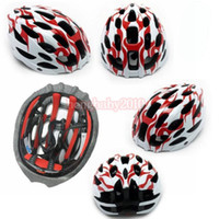 2018 Flame Men Cycling helmet Integrated molding MTB Sports ...
