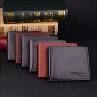 new fashion brand mens wallet classic solid pattern designer...