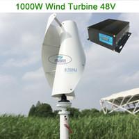Вертикальный ветрогенератор с постоянным магнитом генератор 1000 Вт 24 В48 В вертикальный ветрогенератор с MPPT контроллером для домашнего использования