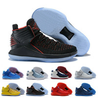 Top 32 mens Sports trainers High Basketball Shoes Black Red ...
