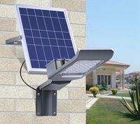 20W 30W LED Solar-Straßenleuchte im Freien wasserdichten IP65 Lichtsteuerung Solar-Power LED-Licht-Garten-Yard-Straßenlaterne mit Smart Remote Control