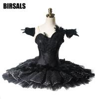 Performance Black Lake Swan Guards Ballet Tutu professionnelle Femmes Ballet Classique Costumes de scène Competitons BT9125