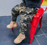 Child trousers 2018 new style boys camouflage trousers child...