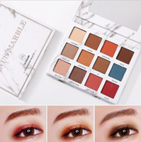 VENUS MARBLE 12 colores Matte Eyeshadow Palette Highlighter Foundation Maquillaje Eye Shadow paleta de sombras Paletas