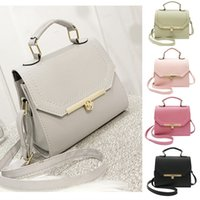 New Women PU Leather Handbag Retro Crossbody Bag Lady Should...