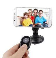 2020 Беспроводная связь Bluetooth Автоспуск спуска затвора камеры дистанционного управления для iPhone 5 6 для Samsung Smart Android Phone Photograph