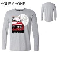 Marka Tasarım Araba T-Shirt Alfa Romeo T Shirt Özel erkek O-Boyun Tee Benzersiz Moda mümkün Streetwear Camiseta polo T-Shirt