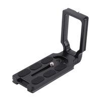 Freeshiping Nikon D7200 D5200 D810a D800 D710 D750 D650 DSLR Kamera Tripod Kafası Evrensel Alüminyum Alaşım Tutuşunu Plaka L Braketi