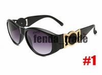 10pc di lusso Hot Head Sunglasses Plastica Eyewear per uomo e donna 9918 5 colori Brand Designer Occhiali da sole per Mens Donne Fashion Sport