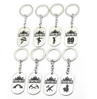 8 Styles Game Fortnite Keychain key holder Metal Keyring Sta...