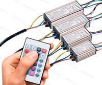 إضاءة محولات RGB محول 10 واط 20 واط 30 واط 50 واط كامل الطاقة للماء AC110V AC110V 220 فولت الألومنيوم مع 24keys لضواء الكاشف بلوب مصباح الجدار دي إتش إل