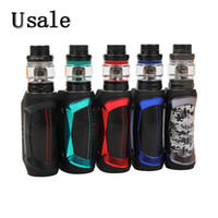 GeekVape Mini Kit Aegis 80W Aegis Mini MOD Batteria integrata 2200mAh 5.5ml Cerberus Sub-Ohm Tank Water Shock Dust Protezioni 100% Originale