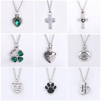 Mixed 9 Style Stainless Steel Memorial Necklace For Ashes Wi...