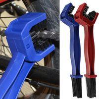 Kunststoff Radfahren Motorrad Kettenbürste Fahrradkette Reiniger Gang Grunge Pinselreiniger Außenwäscherwerkzeug Fahrrad Zubehör