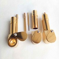 Newest Brass Proto Pipe Vaporizer Metal Smoking Pipes Golden...