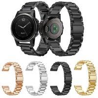 2018 new Stainless Steel Bracelet Watch Band Strap For Garmin Fenix 5S Plus GPS Watch 3 2 1 band Strap watchbands E1008