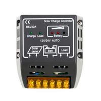 Высокое качество 1 шт. 20A 12 В/24 в панели солнечных батарей контроллер заряда батареи регулятор безопасной защиты