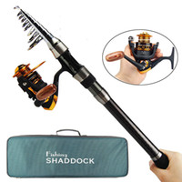 Fishing Tackle Combo 2. 1M- 3. 0M Spinning Fishing Rod Reel Com...