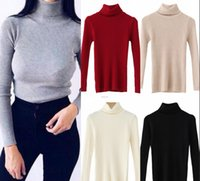 Hot Sale Autumn Winter Women Pullovers Sweater Gray Knitted ...