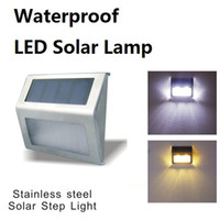 LED Solar Lamps Waterproof Solar Led Flood Lights 2 Leds Gar...