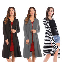 BOFUTE New Women' s Clothing Slim Irregular Cardigan Lon...