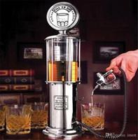 أفضل هدية عيد الميلاد! 1000cc الفضة الخمور مضخة محطة الغاز البيرة الكحول السائل عصير المياه النبيذ المشروبات موزع آلة