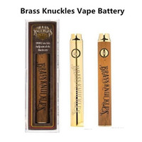 Brass Knuckles Vape Battery 650mAh 900mAh Variable Voltage P...