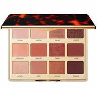 В наличии! Поджаренные палитры теней для век 12 цветов тени для век мерцание матовые палитры высокое качество макияжа бесплатная доставка.
