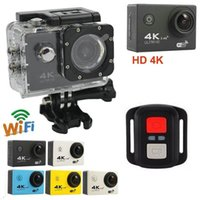 4K Sports Camera HD 1080P Action Cameras Helmet Cameras Wate...