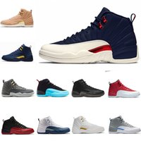 new product 3c6d5 8993d nike air jordan 1 4 5 6 11 12 13 aj12 retro 12s 2018 NUOVO 12