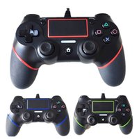 Nuevo PS4 Wired Controllers USB Gamepads para PS4 Game Controller Vibration Wired Joystick Handle para PlayStation 4 Console