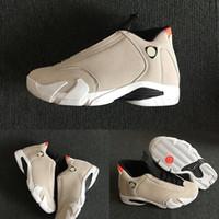 2019 nouveau J14 14 xiv Desert Sand Black Photos officielles Men Basketball Chaussures 487471-021 Chaussures de basketball Mens 23 Sports de sport Taille US 7-13