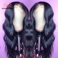 Honrin Hair Natural Wave 360 Lace Wig Pre Plucked Hairline B...